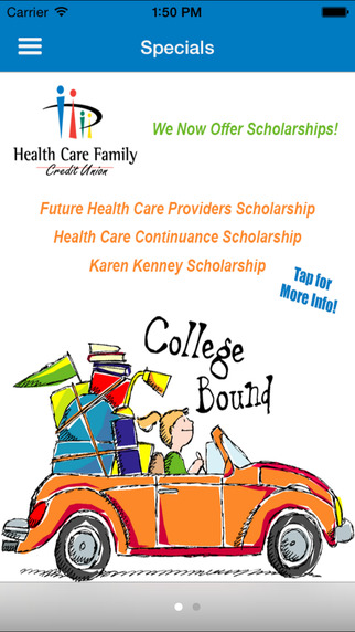 Healthcare Family Credit Union Mobile