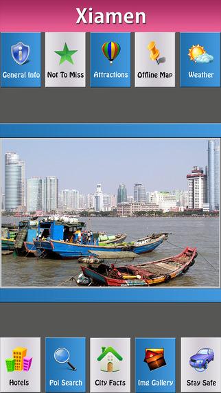 Xiamen Offline Map City Guide