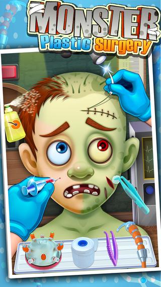Monster's Plastic Surgery Simulator - Surgeon Games