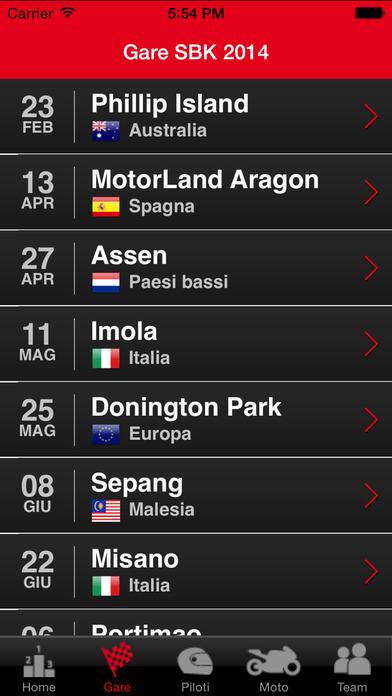 Aprilia Racing iPhone Screenshot 2