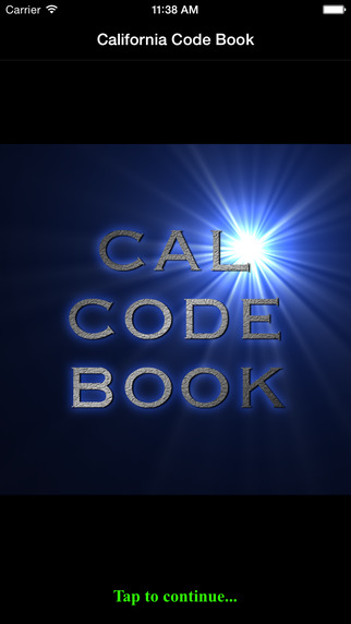 California Code Book