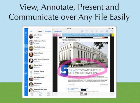 ViewChat - PDF 文档阅读、编辑、转换工具[iPad]丨反斗限免