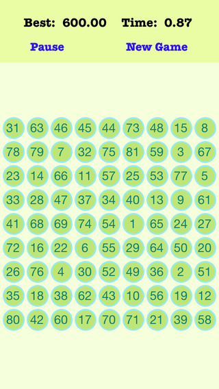 A¹A 81 Numbers