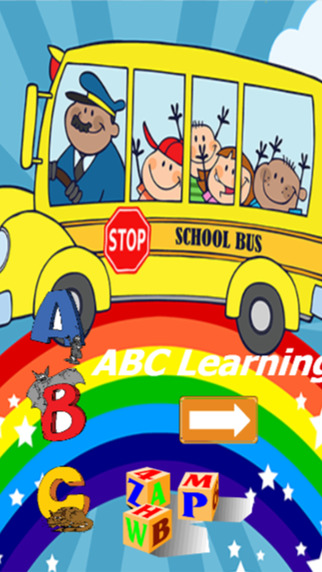 ABC alphabet English vocabulary Learn for toddler kids