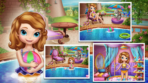 Baby Swimming Pool Game
