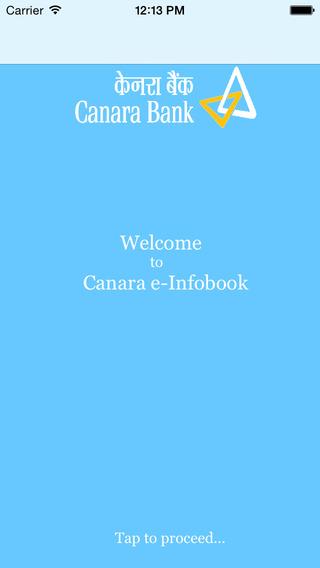 【免費財經App】CanaraE-Infobook-APP點子