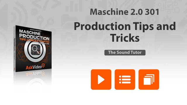 【免費音樂App】Production Tips and Tricks For Maschine-APP點子