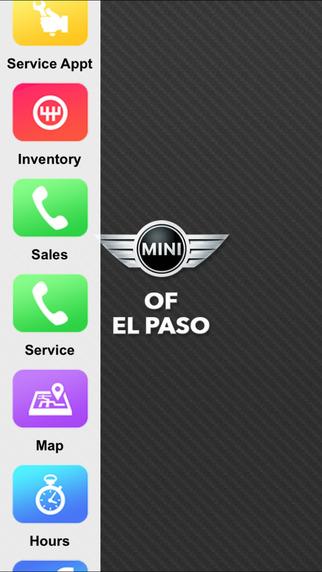 MINI of El Paso Dealer App
