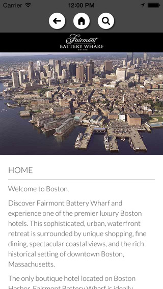 Connecting Luxury - Fairmont Miramar Hotel Bungalows Resort - Battery Wharf Boston