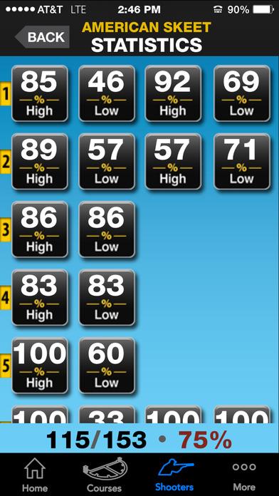 ClayTracker-Skeet & Sporting Clays Scorekeeper iPhone Screenshot 5
