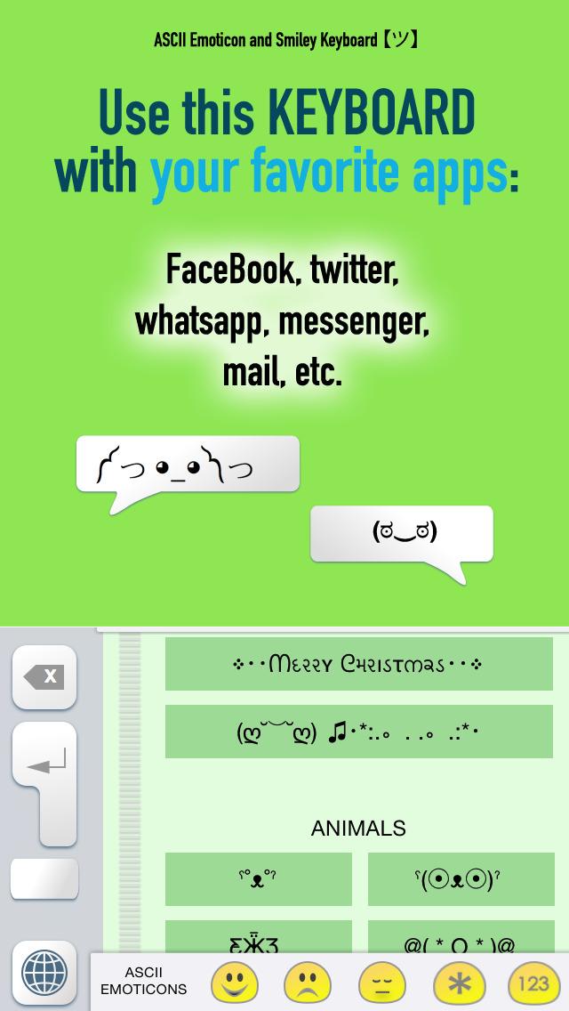One Line Ascii Art Sad Face : App shopper ascii emoticon smiley keyboard emoji