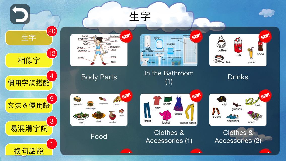 shopper: 图解英文