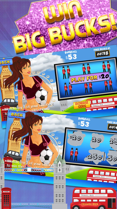 Screenshot 2 «Ace Лото Scratchers — World Tour Лотерея скретч-
