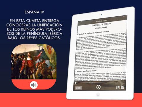 Historia de España - 4ta Parte iPad Screenshot 1
