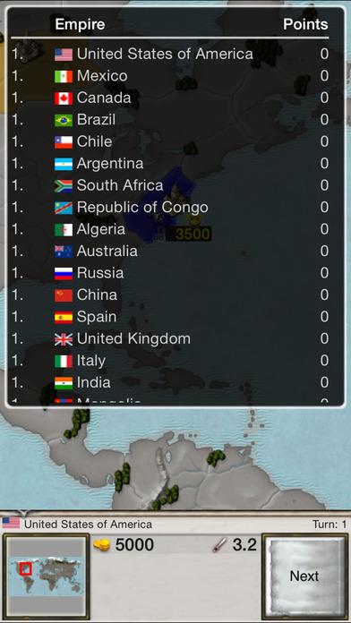 Age of Conquest: World Conquest iPhone Screenshot 3