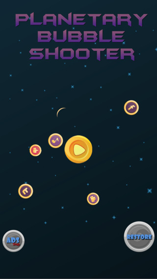 Planetary Bubble Shooter