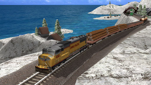Train Simulator 2015 Free - United States of America USA and Canada Route - North America Rail Lines Screenshots