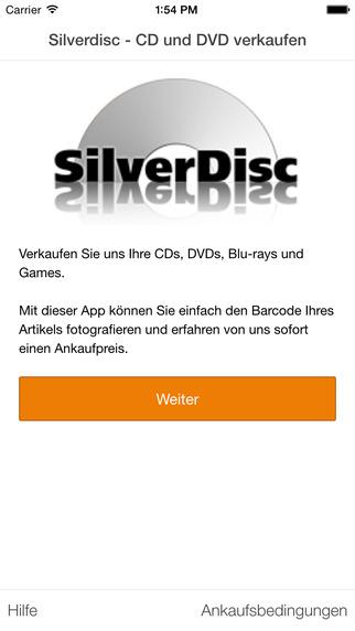 SilverDisc - verkaufe CD DVD