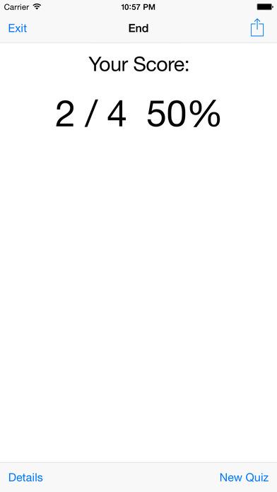 Spelling Quiz iPhone Screenshot 4