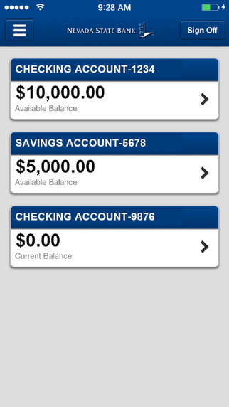Nevada State Bank Business Mobile Banking