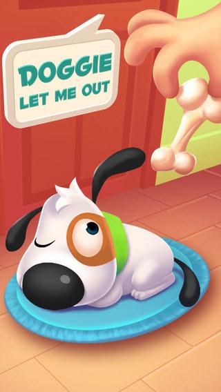 狗狗,放我出去 Doggie Let Me Out - 逃離廚房