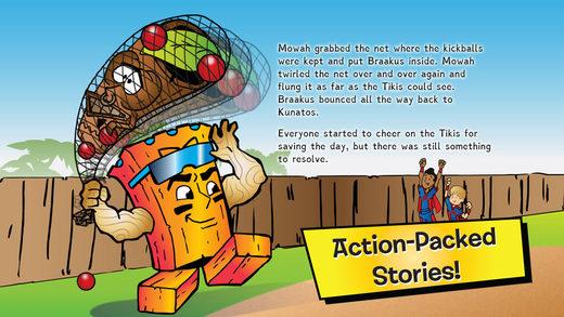 Braakus and the Hidden Humbug (Book #8 - Sportsmanship) Neon Tiki Tribe - English Screenshots