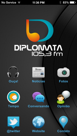 Rádio Diplomata FM - Brusque SC
