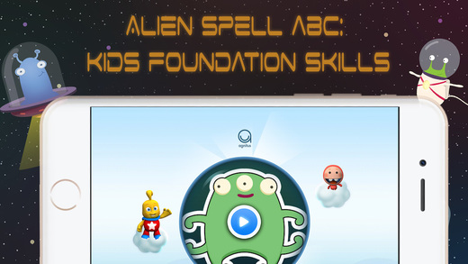 ABC Spelling Aliens: Syllable Name Phonic Sounds Combination FULL