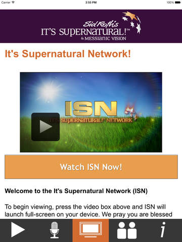 Sid Roth's It's Supernatural! Network - Screenshot 2
