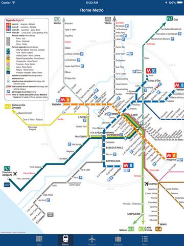 Rome Offline Map - City Metro Airport Screenshots