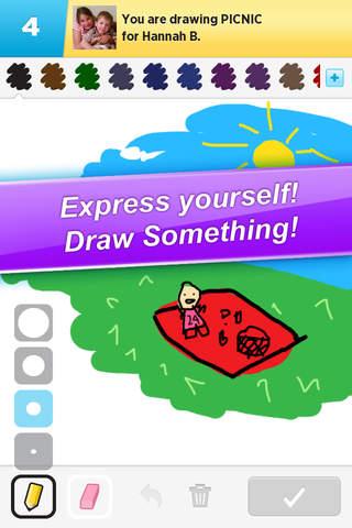 Screenshot 1 Draw Something