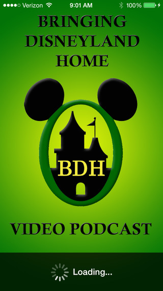 Bringing Disneyland Home - Video Podcast iPhone Screenshot 1