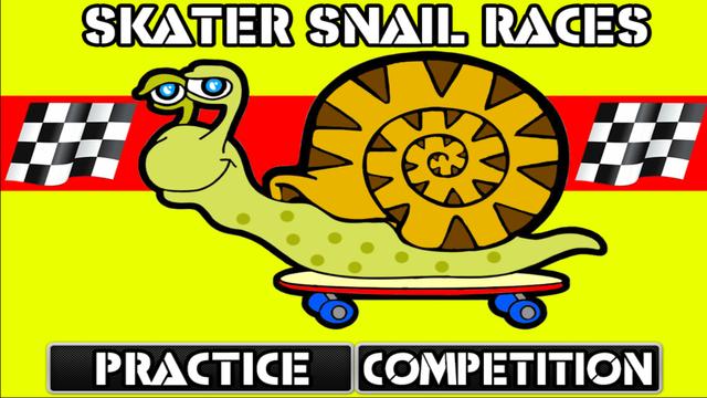 Skater Snail Races