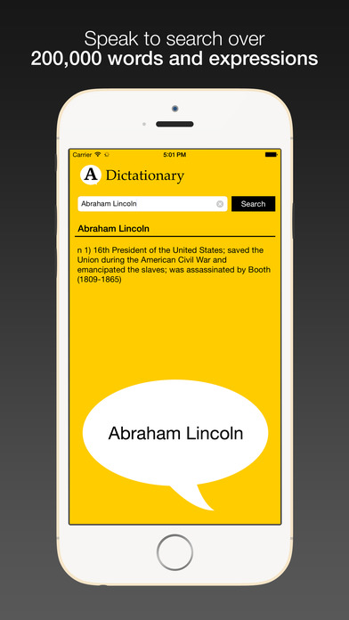 Dictationary - Voice enabled dictionary for Watch Screenshots