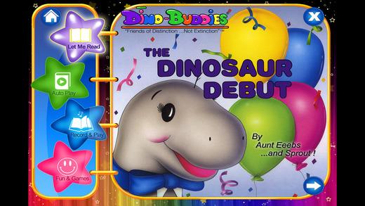 Dino-Buddies – The Dinosaur Debut Interactive eBook App English