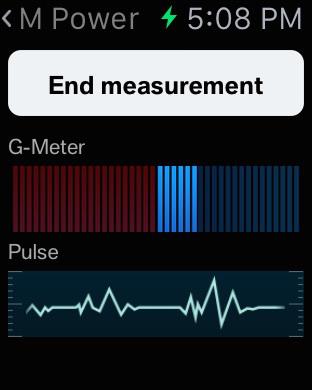 BMW M Power Meter iPhone Screenshot 4
