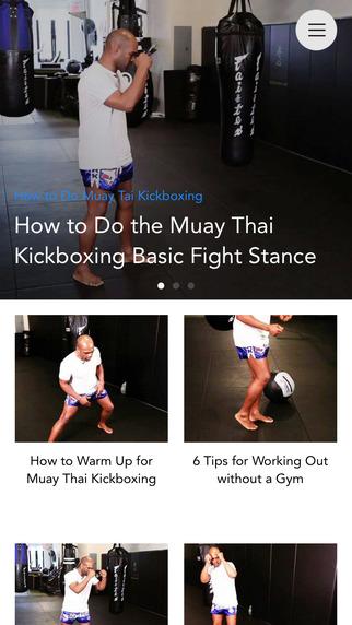 Muay Thai Video Lessons