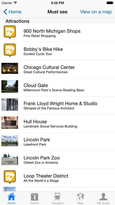 Chicago Travel Guide Offline iPhone Screenshot 4