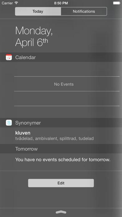 Synonymer iPhone Screenshot 4