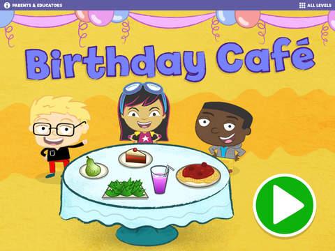 Gracie Friends Birthday Café