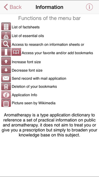 Aromatherapy iPhone Screenshot 3