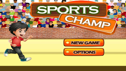Sports Champ - 100m Finger Run