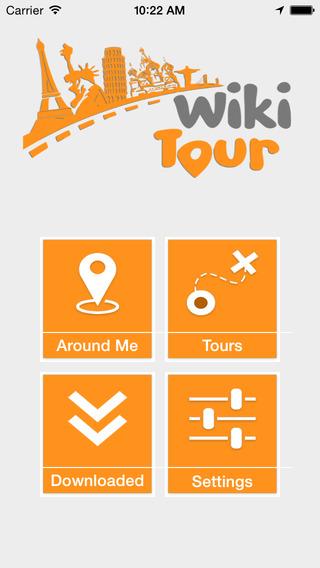 Wikitour Audio Tour Guide