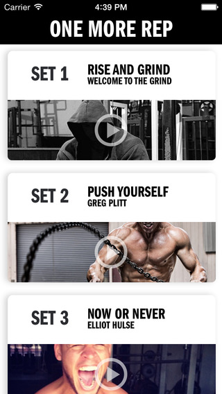 One More Rep Pro - Gym Audio Coaching and Personal Trainer