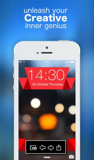 Lock Screen Wallpaper Designer - Create Stunning Themes With Simple Gesture