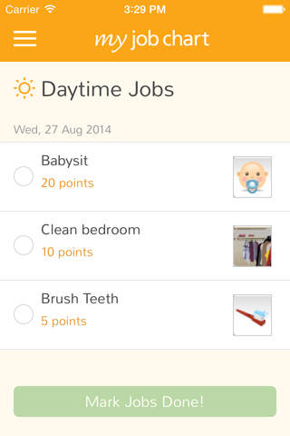 My Job Chart screenshot 4