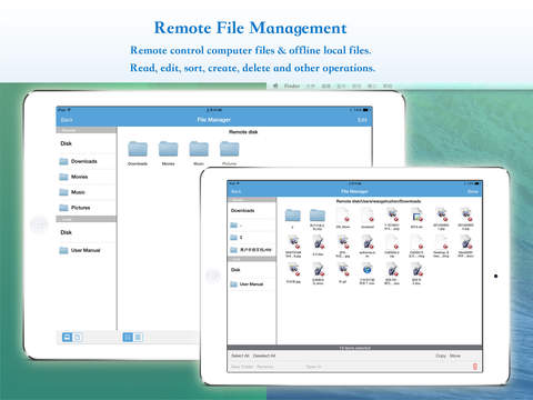 GoodRemote Desktop - Dual-mode Remote Desktop (Streaming,VNC) + Multi-function Remote Control screenshot