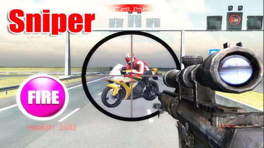 Sniper Traffic Hunter 3D - Shooting killer Road Race Games