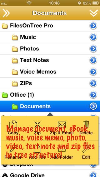 FilesOnTree - Tree File Explorer