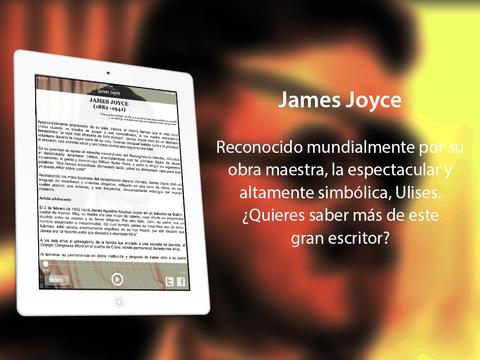 James Joyce iPad Screenshot 2
